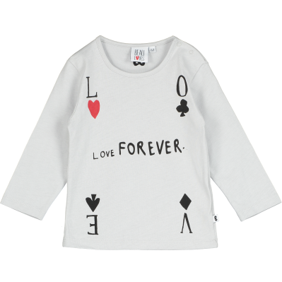 Baby Long Sleeve T Shirt - Love Forever
