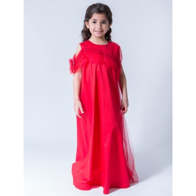 Myazaa - Red Dress with tulle