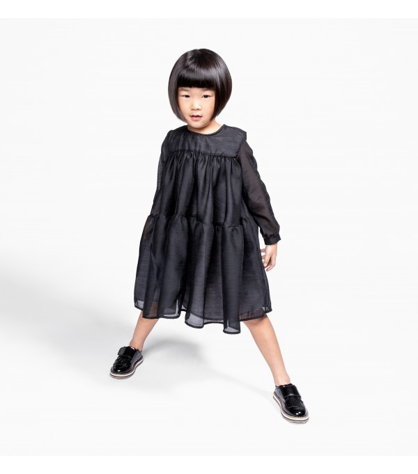 Voile Layered Dress