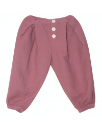 Baggy trousers plum