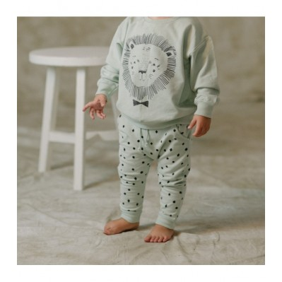 Lion Sweatshirt and Sweatpants Set