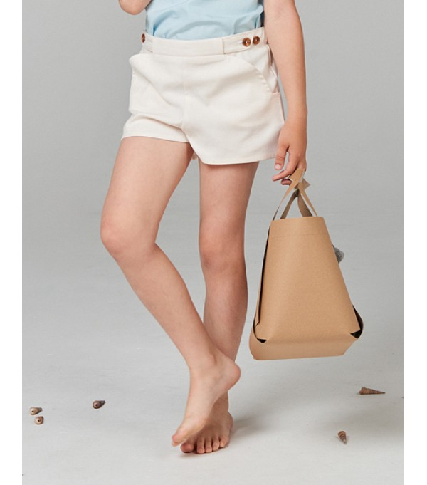 Curved Pocket Shorts