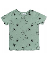 Avocado Print Short Sleeve Shirt