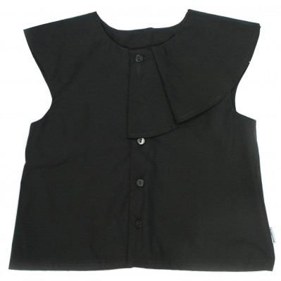 Stella Crop Top -Black
