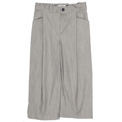 Relaxed Pants - Grey denim