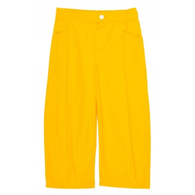 Relaxed Pants - Yellow