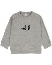 Grey MILK Sweatshirt