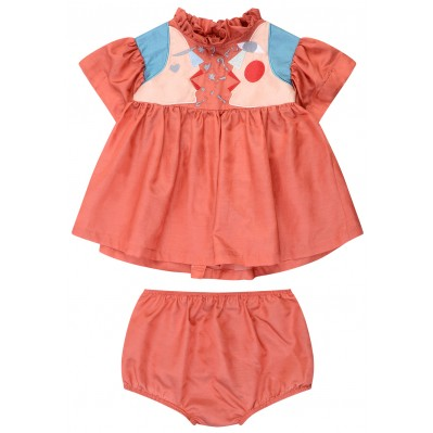 Cissy dress with bloomers