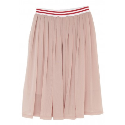 Blush crepe georgette skirt