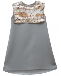 Sequins Bib Dress