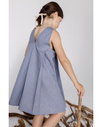 Back V-Neckline Dress