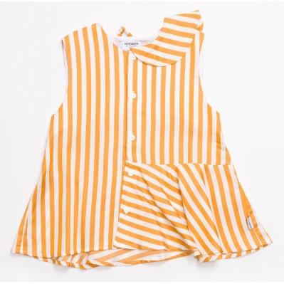 Roma Blouse-Stripes