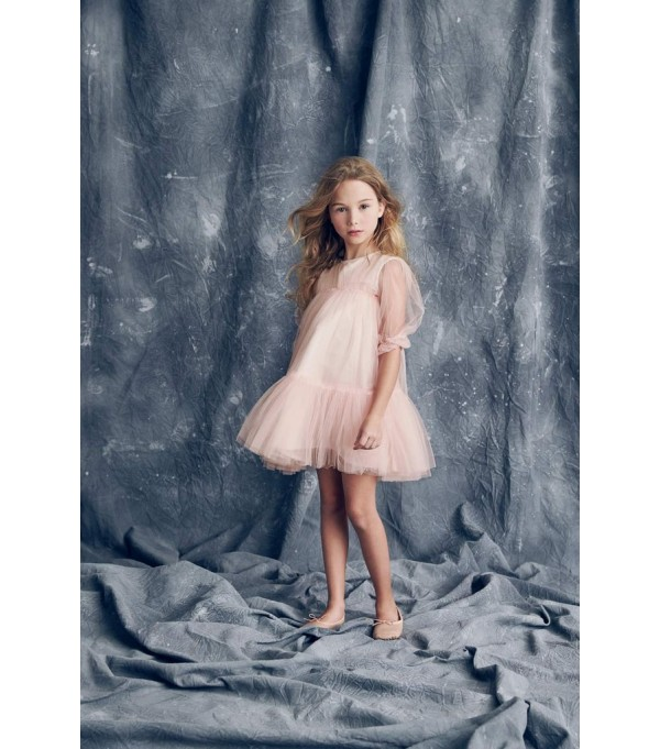 Alice Dress - Peach Melba