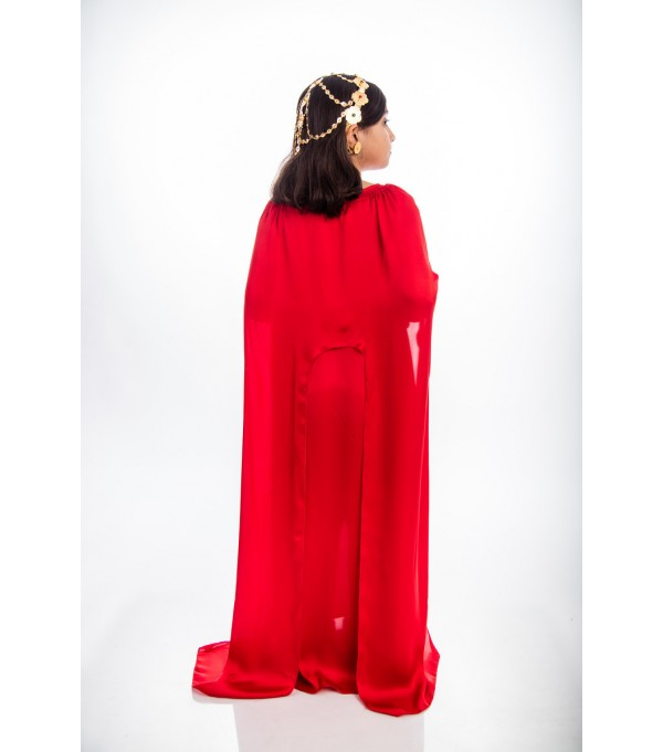 Ash 7-  Red Cape dress