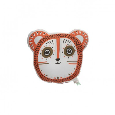 Billy Bear Cushion - Orange