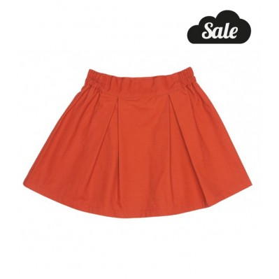 Box Skirt - Rust