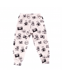 Camera Print Bubble Pants