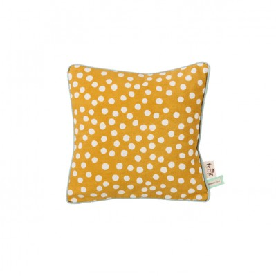 Dots Cushion - Curry
