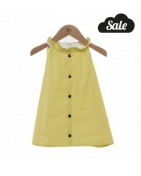 Frou frou Top  - Yellow