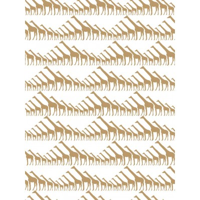Giraffe | Gold Metallic