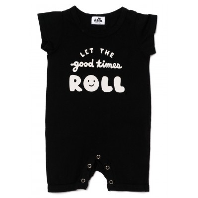 Lets roll Shorts Romper
