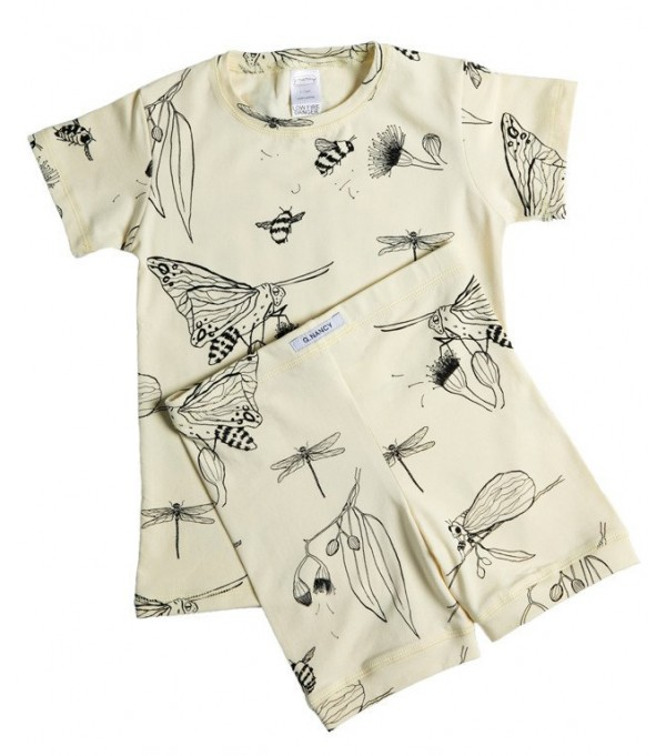 Limoncello Bug Shorties PJ Set