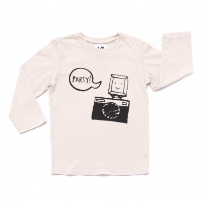 Party Camera Graphic T-shirt
