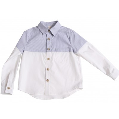 Patchwork Classic Button Down