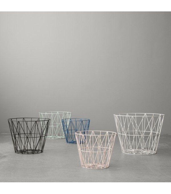 Petrol - Wire Basket Large