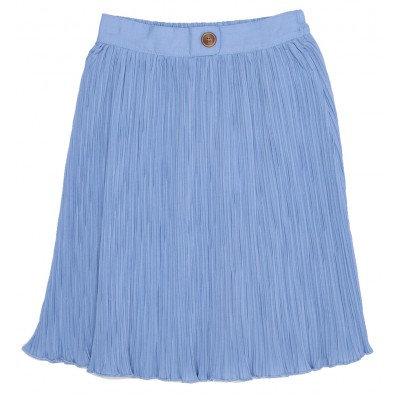 Pleated Sky Blue Skirt