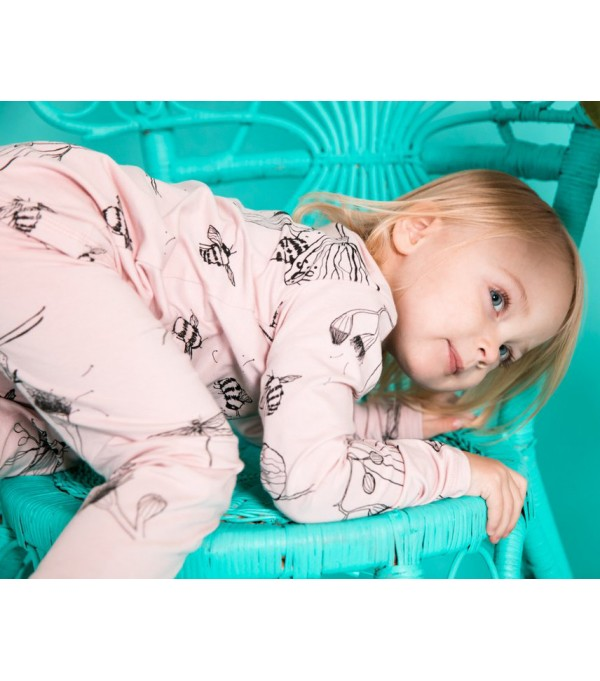 Rose Bug Long PJ Set