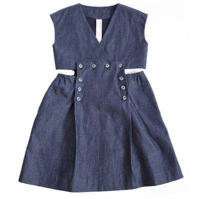Sailor Skirt Two-Pc Dress