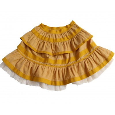 Tiered Ribbon Pollera Skirt