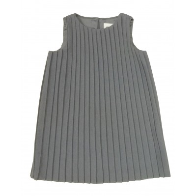 Wool Pleated Dress